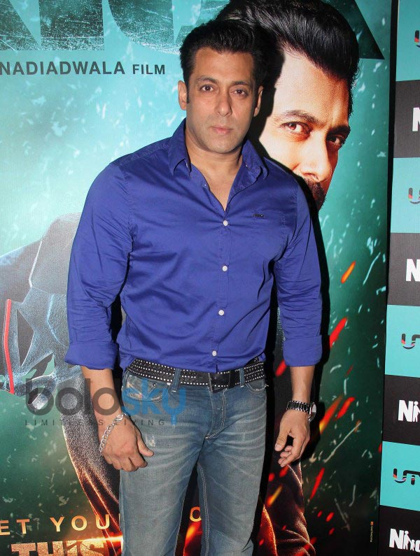 Salman Khan At Kick Film Media Interaction Photos Pics 262483