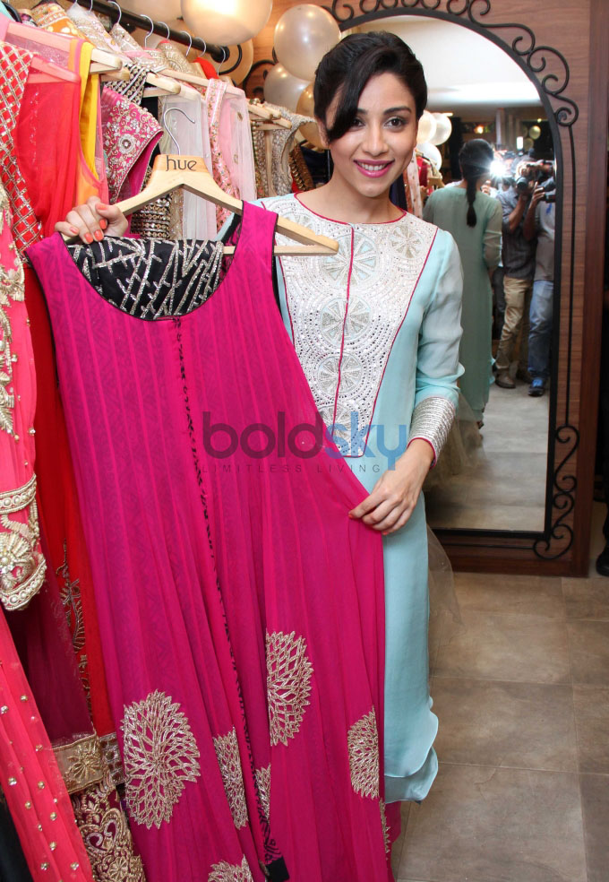 Daisy Shah, Parvathy and Amrita at fashion designers Ritika and Shruti Preview