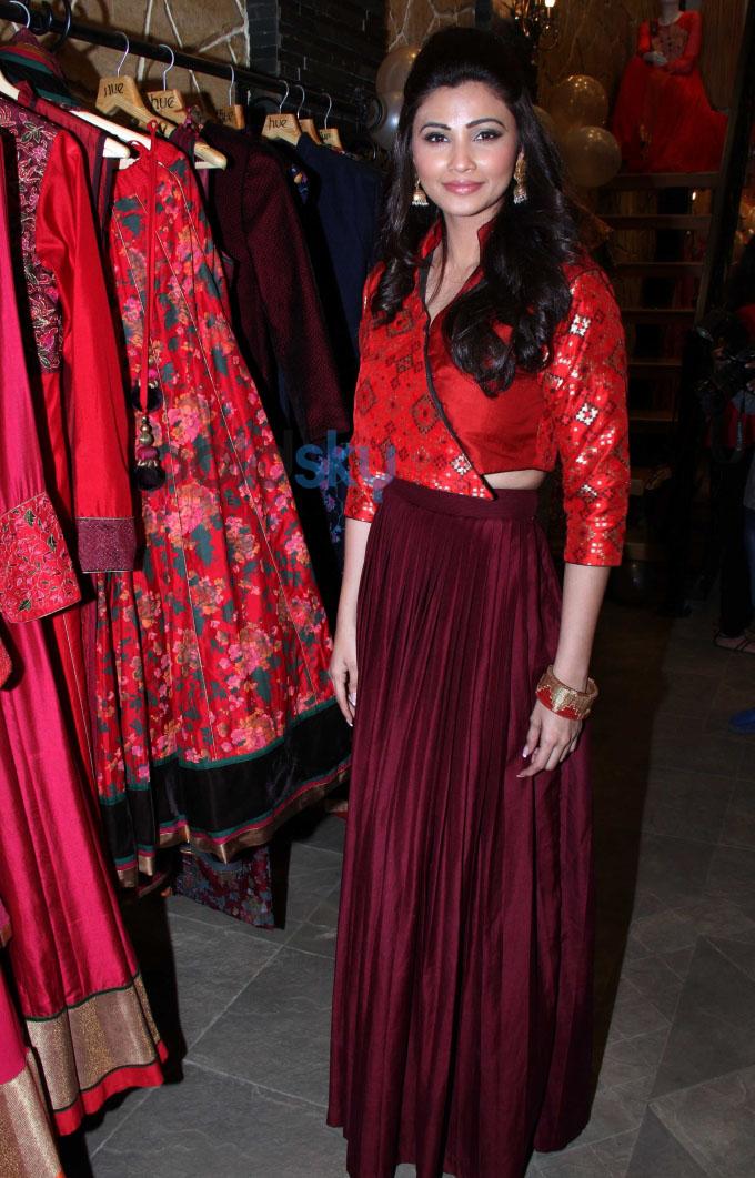 Daisy Shah, Parvathy and Amrita at fashion designers Ritika and Shruti Preview