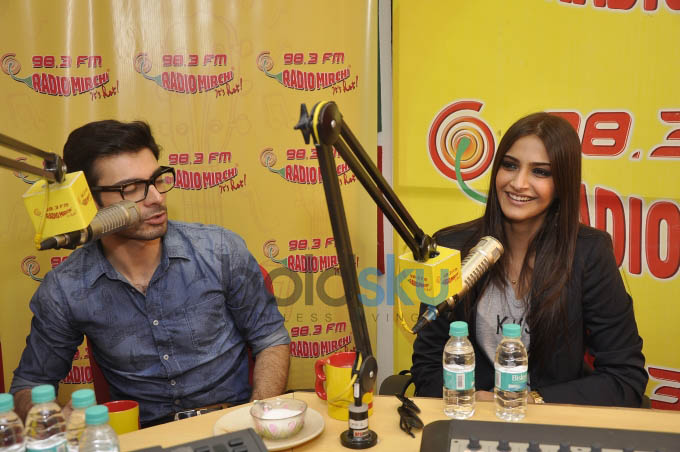 Khoobsurat Promotion at Radio Mirchi