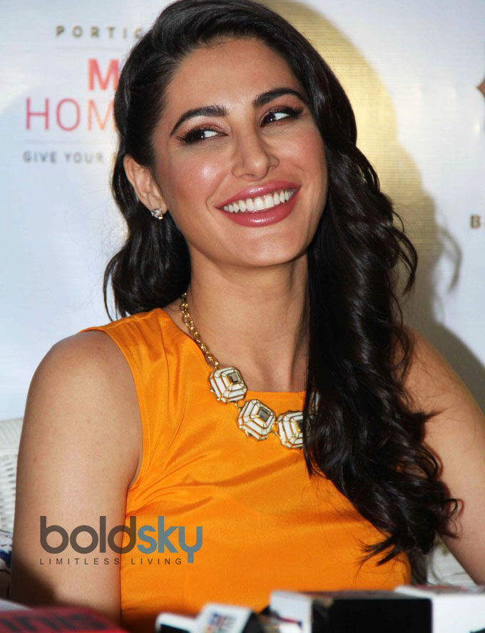 Nargis Fakri Launches Mission Home Fashion