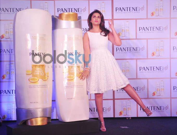 Parineeti launches Pantene's Proof not Promises campaign