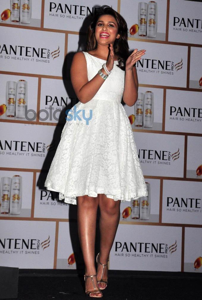 Parineeti launches Pantene's Proof not Promises campaign