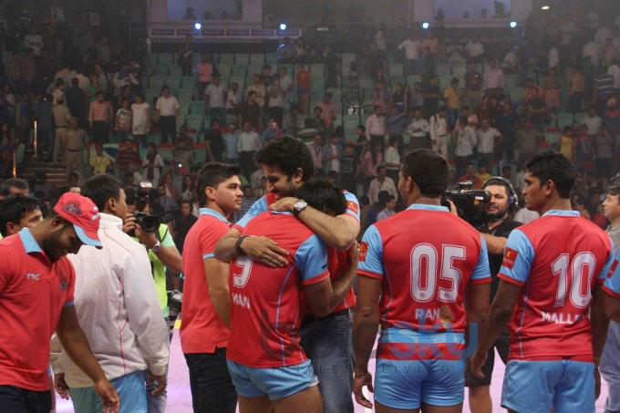 Pro Kabaddi league Match Dabang Delhi vs Jaipur Pink Panthers