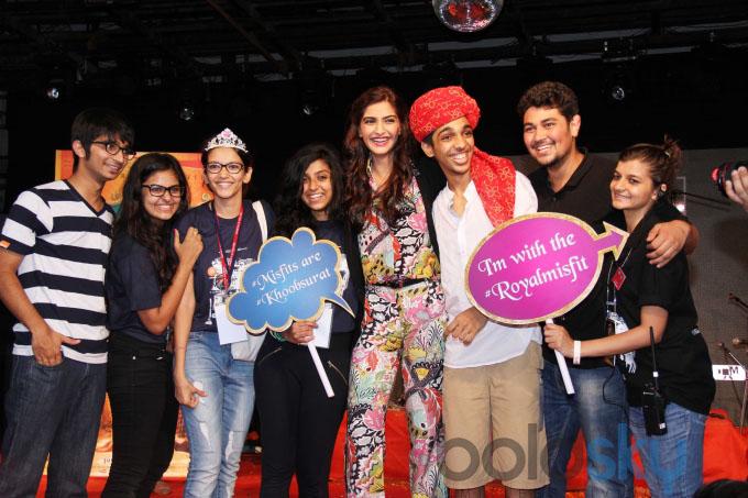 Sonam Kapoor promotes Khoobsurat