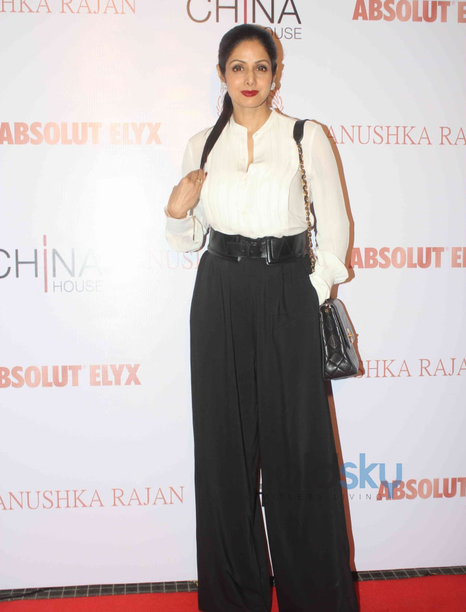 Sridevi Unveils Absolut Elyx and Anushka Rajan's Fashion Preview