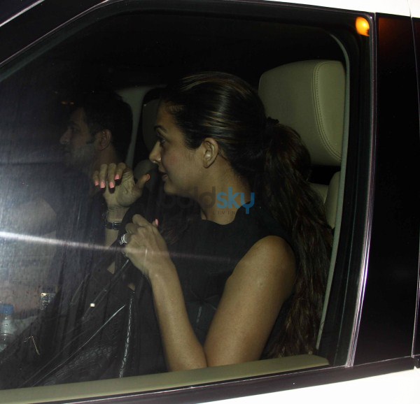Amrita Arora snapped at olive