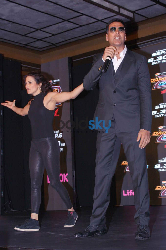Akshay Kumar Dare to Dance Press Conference