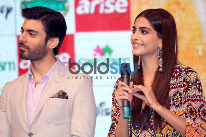 Launch of Sangam by Sonam Kapoor & Fawad Khan
