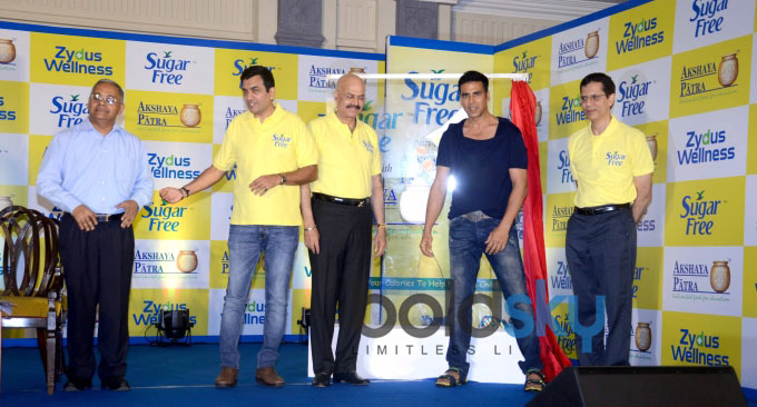 Akshay Kumar Promotes Sugar Free Diet