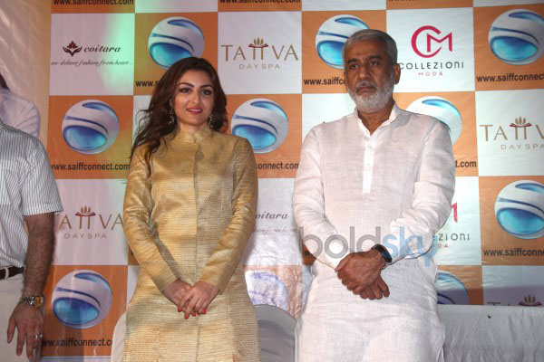 Soha Ali Khan Launches Saiffconnect Portal