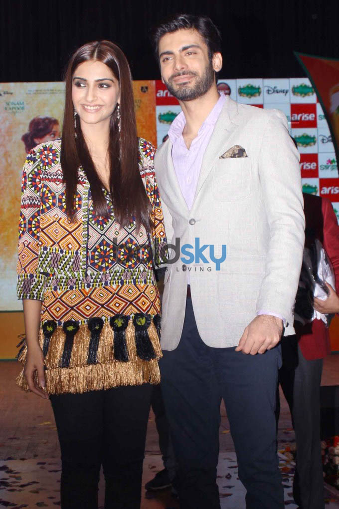Launch of Sangam by Sonam Kapoor & Fawad Khan