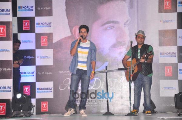 Ayushmann Khurrana Promotes His Album Mitti Di Khushboo