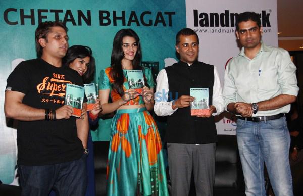 Chetan Bhagats Half Girlfriend Book Launch