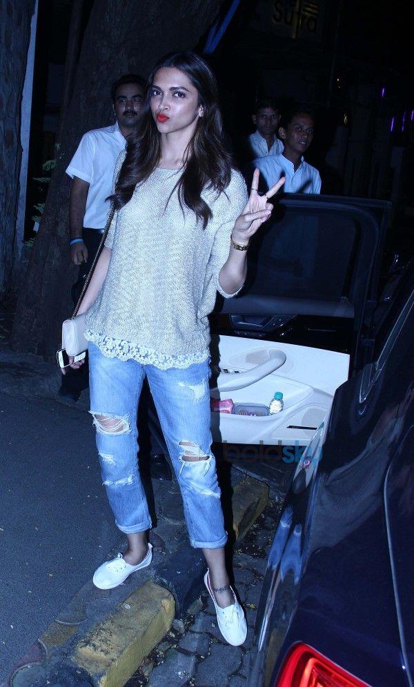 Deepika Padukone Snapped At Nido
