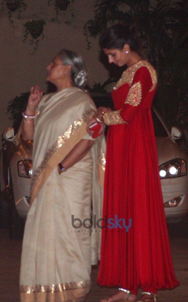 Diwali Bash At Amitabh Bachchan's Residence