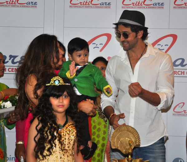Hrithik Roshan Inaugurated New Branch Of Criticare Hospital