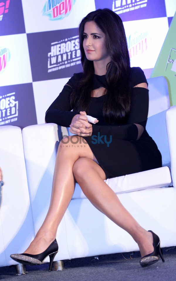 Hrithik and Katrina Launch Mountain Dew Heroes Wanted Campaign