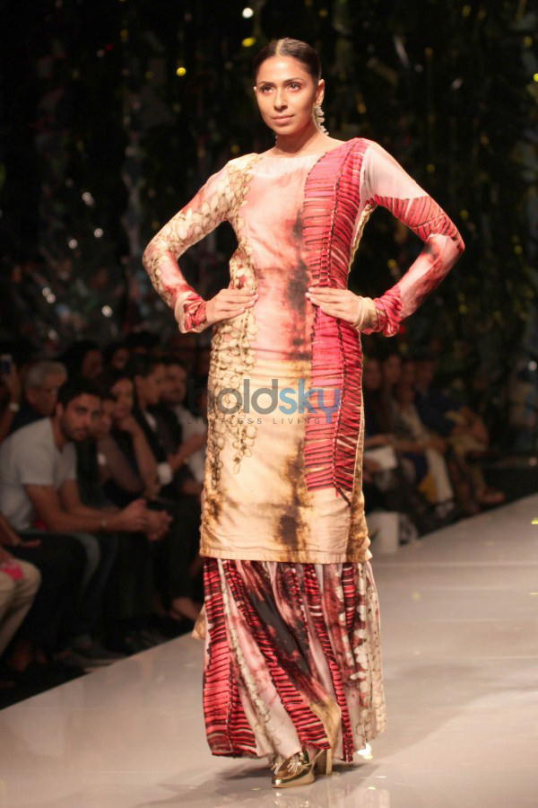 Wills India Fashion Week 2015 - Masaba Gupta