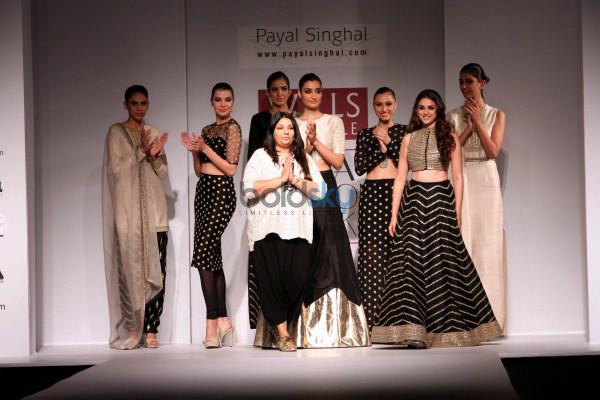 Wills India Fashion Week 2015 - Payal Singhal