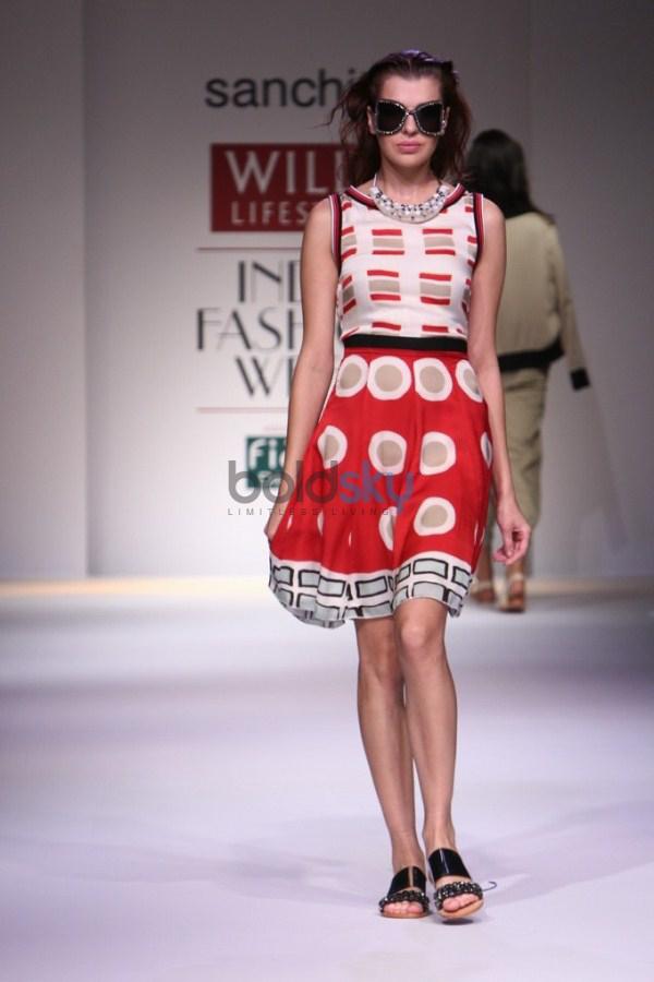 Wills India Fashion Week 2015 Sanchita Photos Pics