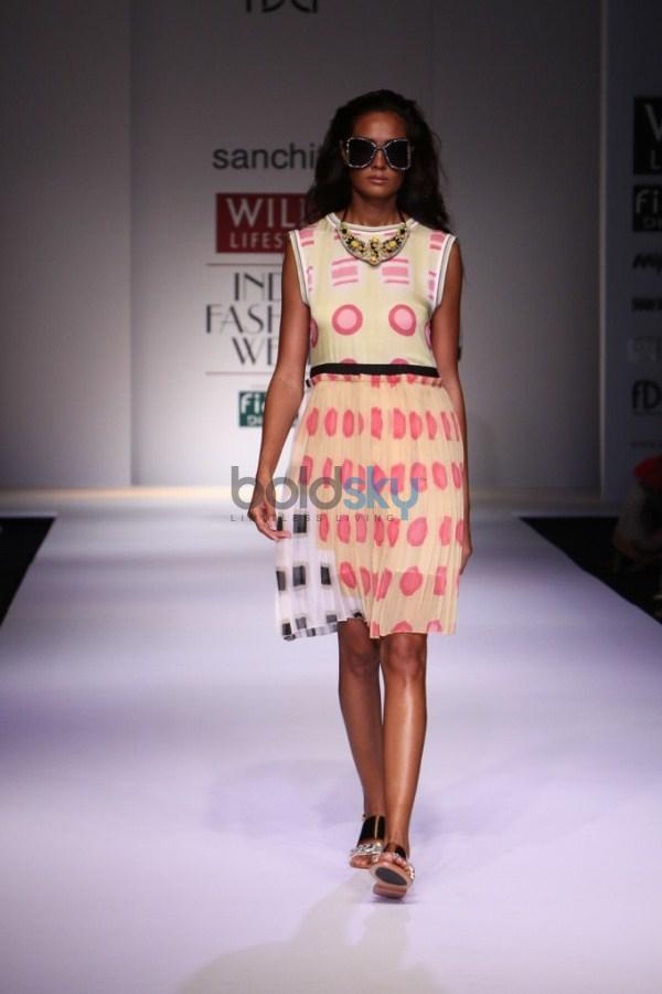 Wills India Fashion Week 2015 -  Sanchita