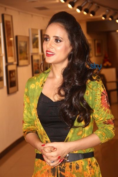 Gul Panag Attends 'The Melted Core' Photo Exhibition By Nisheeth Bhatt