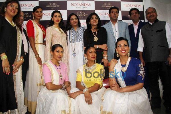 karishma kapoor at sunita shekhawats jewellery launch