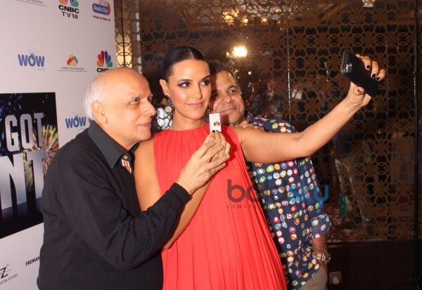 Neha Dhupia And Mahesh Bhatt At CEO'S Got Talent