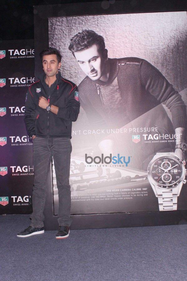 Ranbir Kapoor At Tag Heuer's New Brand Campaign