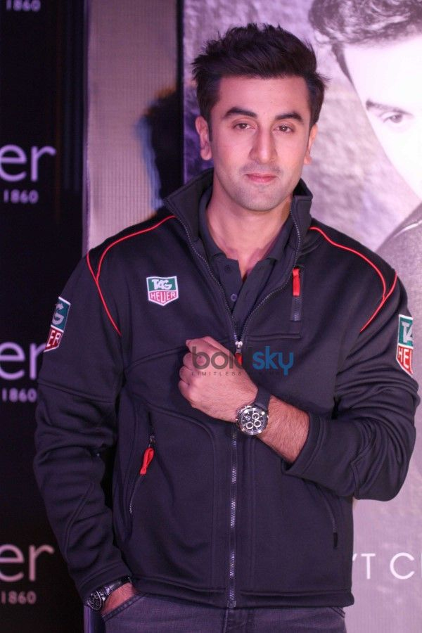 Ranbir Kapoor At Tag Heuer's New Brand Campaign