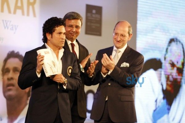 Launch Of Sachin Tendulkar's Autobiography 'Playing It My Way'