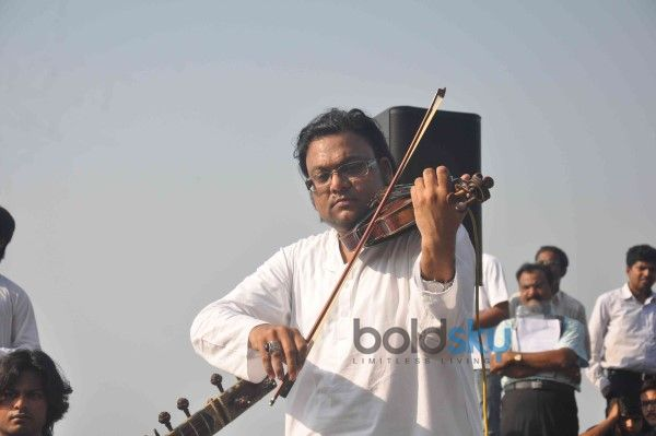 Shekhar Kapur And AR Rahman's 'Qyuki' Classical instrumentalists