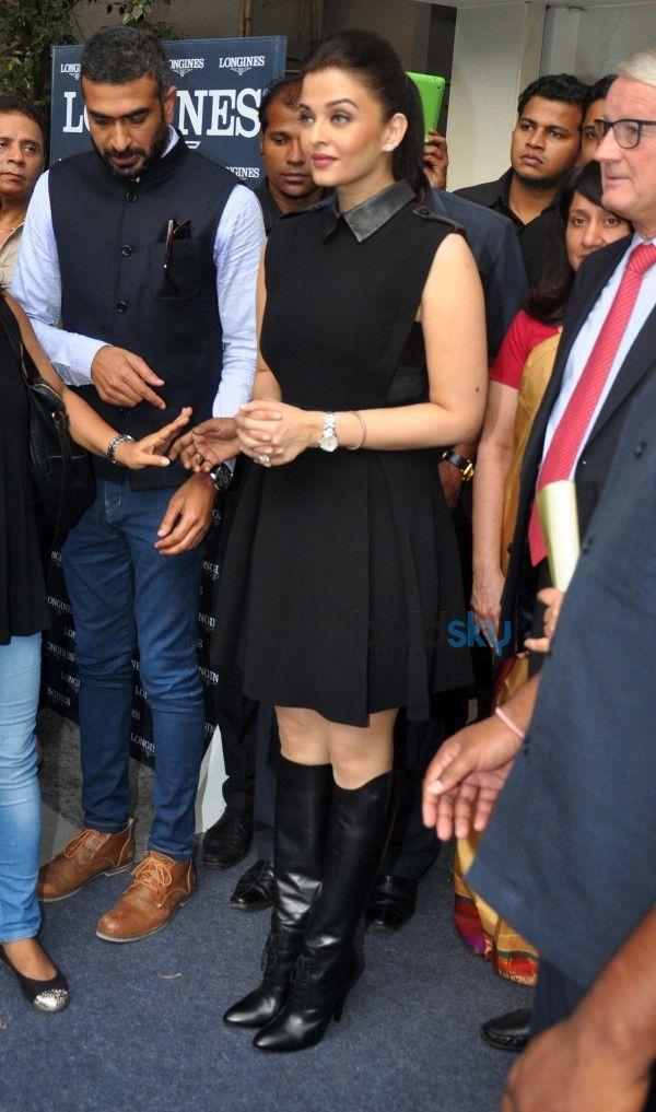 Aishwarya Rai Inaugurates Longines Boutique