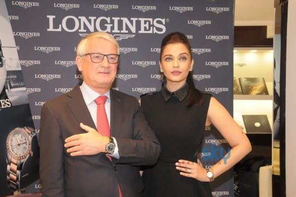 Aishwarya Rai Inaugurates Longines Boutique
