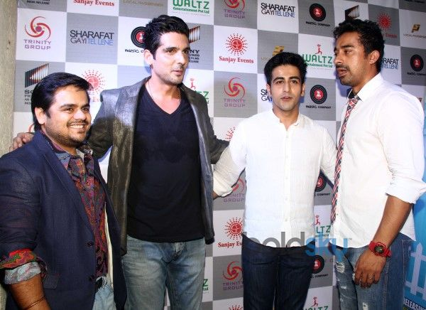 Music Launch Of Film 'Sharafat Gayi Tel Lene'
