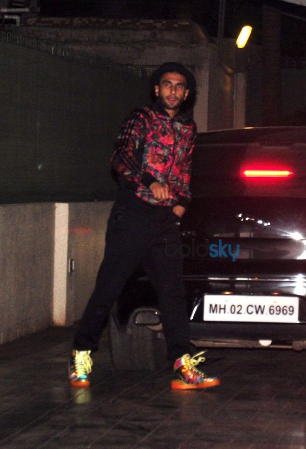 Ranveer Singh Snapped At His Residence