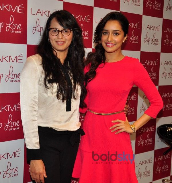Shraddha Kapoor At Launch Of Lakme Lip Love Lip Care