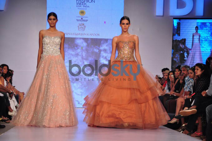 Gionee India Beach Fashion Week 2015-Day 3. Anjallee & Arjun Kapoor Show