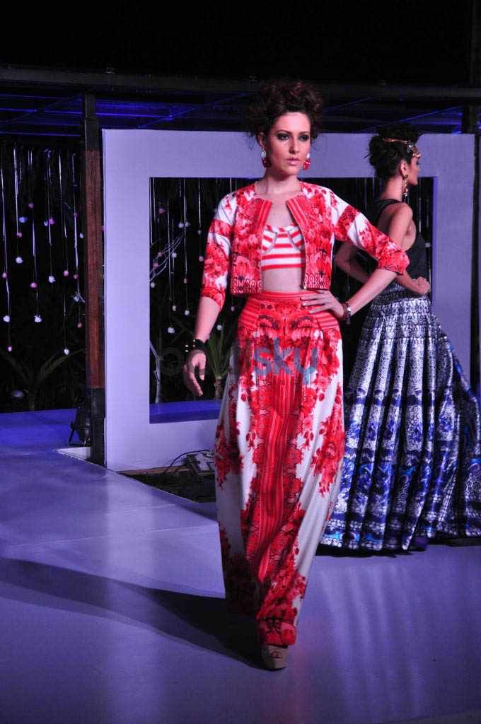 Gionee India Beach Fashion Week 2015-Day 3.Falguni and Shane Peacock Finale show