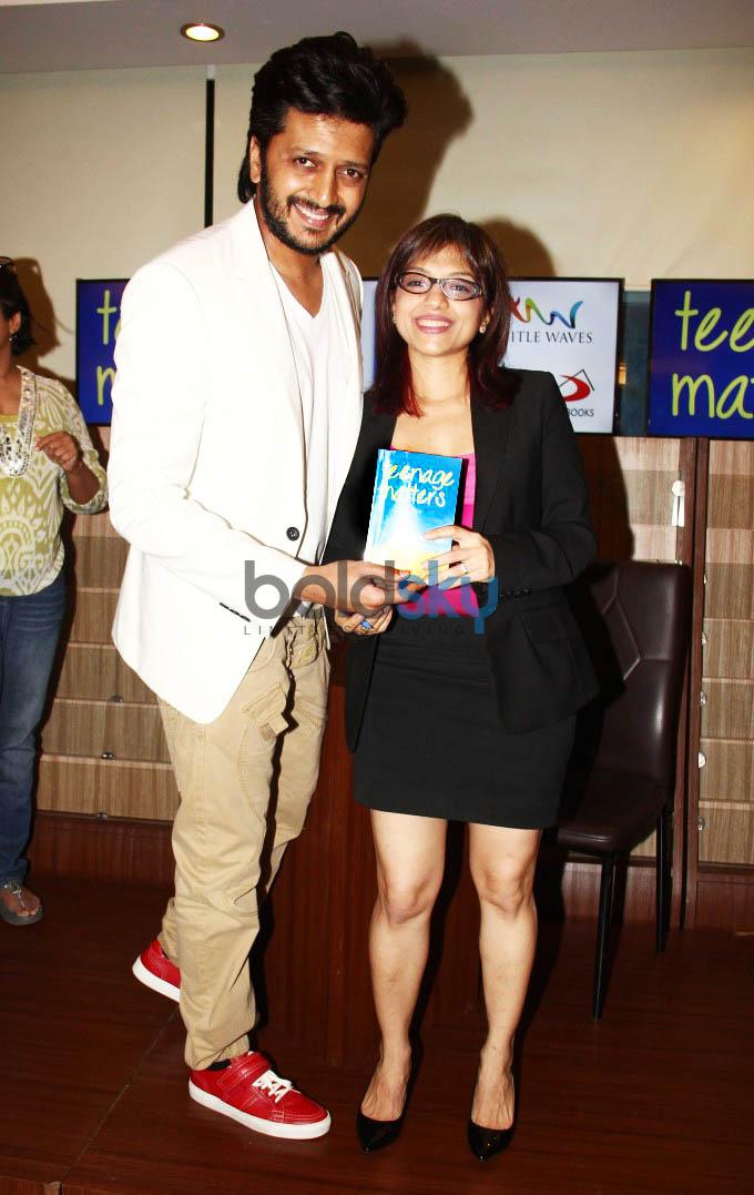Riteish Deshmukh Launches Shefali Batra's First Book 'Teenage Matters'