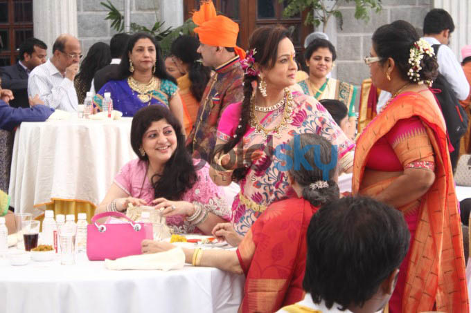 Wedding Of Smita Thackeray Son Rahul Thakre With Aditi Redkar