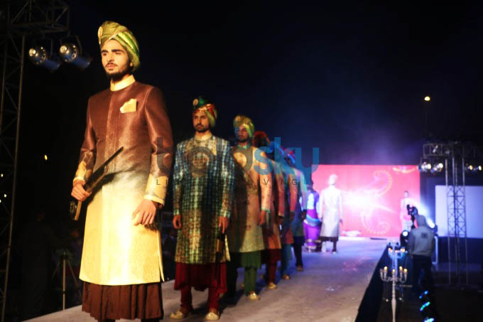 Parampara Fashion Show Held in Delhi