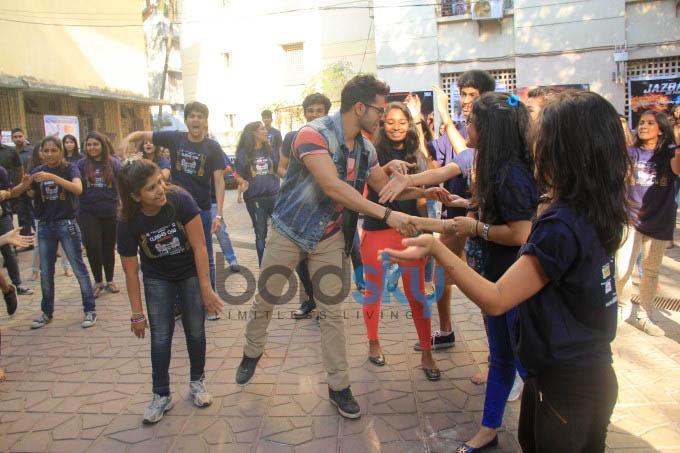Varun Dhawan At National College's Cutting Chai Festival