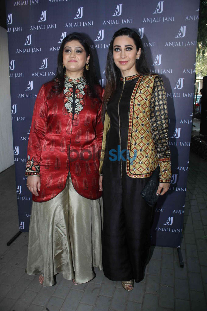 Karisma Kapoor Launches Fashion Designer Anjali Jain's Store