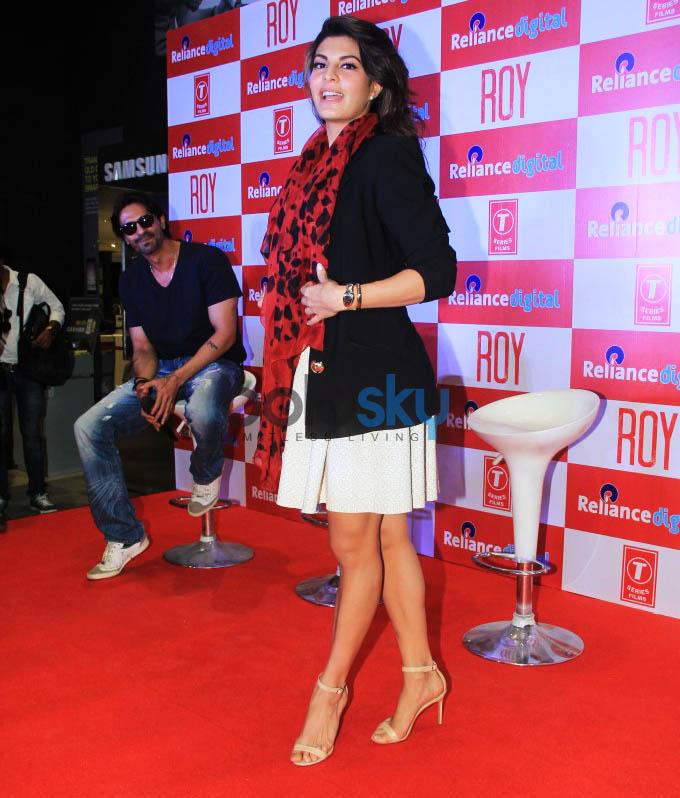 Promotion Of Film Roy