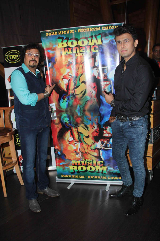 Sonu Nigam And Bikram Ghosh Celebrate Success Of Album -The Music Room