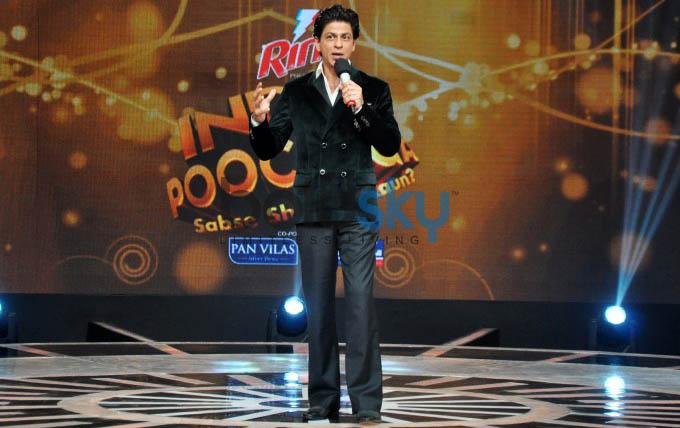 Shah Rukh Khan At India Poochega Sabse Shaana Kaun Press Conference