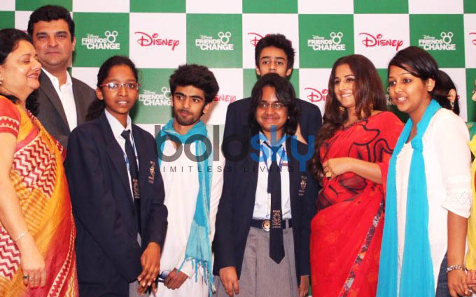 Vidya Balan At Disney Friends For Change Event
