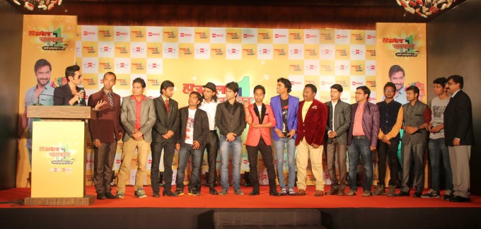 Ajay Devgan Judges Hajmola Open Mic Contest At Novotel Juhu